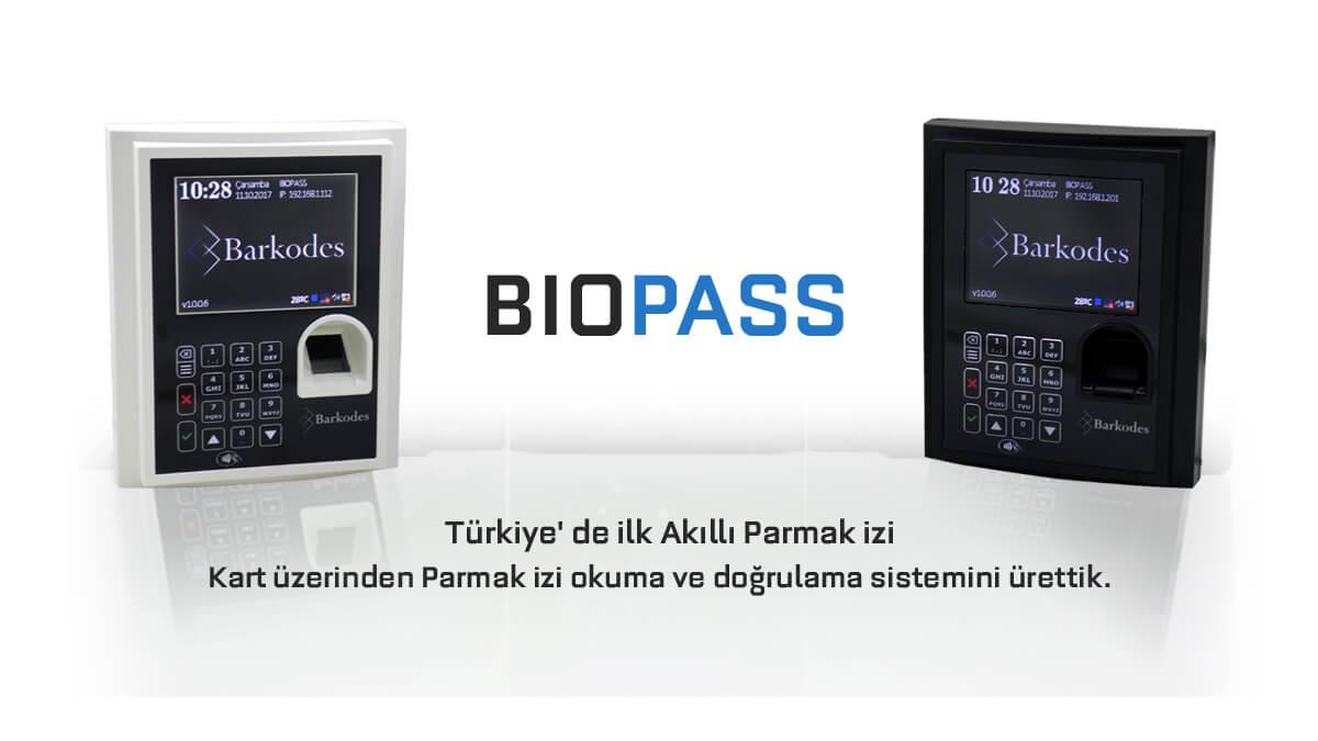 BioPASS Parmak izi Okuyucu