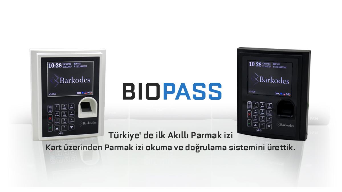 BioPASS Parmak izi Okuma ve Tanıma Sistemleri