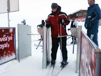Kartalkaya Kayak Merkezi SkiPASS Turnikeli Geçiş Sistemi